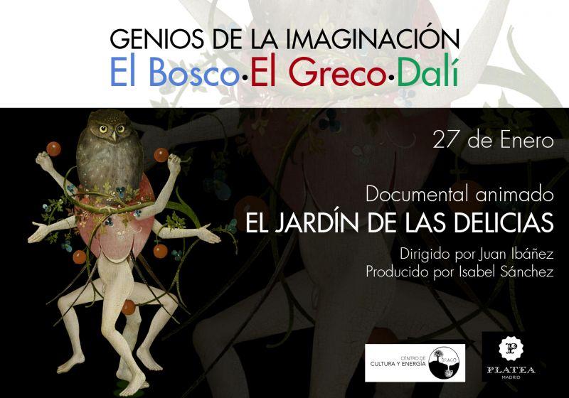 El jard n de las delicias documental animado drago for Jardin de las delicias zamora